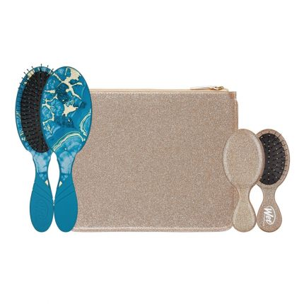 Wet Brush Pro Glitter & Go Set with Pouch - Gold [WB190]