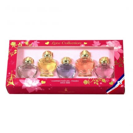 Charrier Parfums CP Love Collection EDP 5pcs [!YC9121]