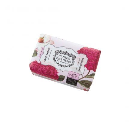 Panier Des Sens Authentic Shea Butter Soap Magnolia Peony 200g [PDS804]