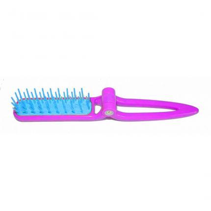 Janeke Foldable Teasing Brush 86SP04 Fuxia [JNK39]