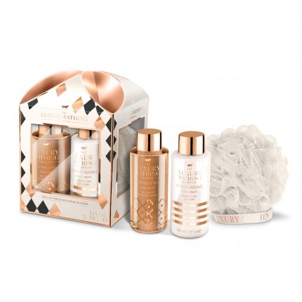 Grace Cole English Pear & Nectarine Blossom Body Wash 100ml + Body Cream 100ml + Body Polisher - Stand Out [GC926]