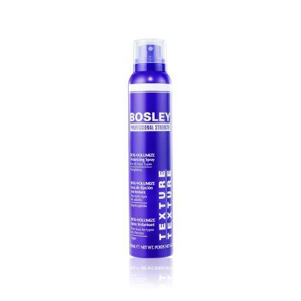 Bosley BOS VOLUMIZE Volumizing & Thickening Texturing Spray 177ml [BOS214]