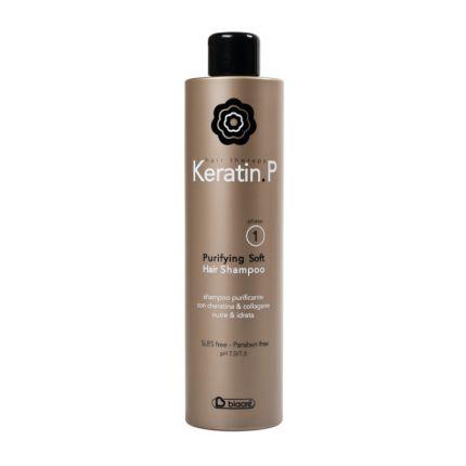 Biacre Keratin.P Purifying Soft Hair Shampoo Phase 1 500ml [BC130]