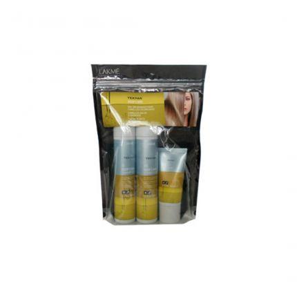 [Travel Pack] Lakme Teknia Deep Care 100ml Shampoo + 100ml Conditioner + 50ml Treatment [!LM328]