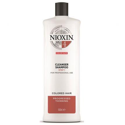 Nioxin System 4 Cleanser Shampoo 1000ml [NXA216]