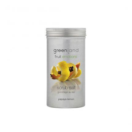 Greenland Papaya-Lemon Scrub Salt 400g [GL8040]