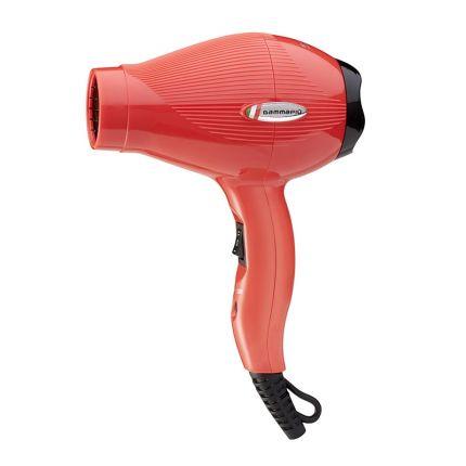 Gamma Piu Professional Hair Dryer E-T.C. Mini Red (Portable) [GMP131]