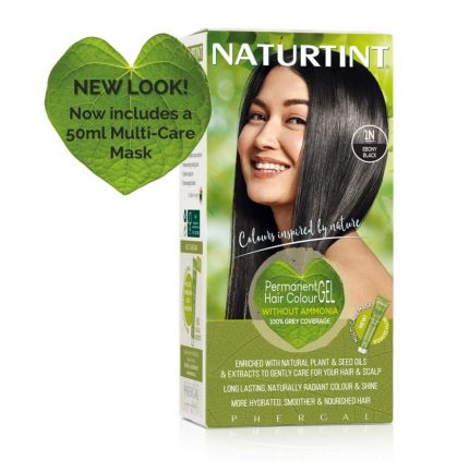 Naturtint Multicare 1N Ebony Black 165ml [NTN1N]