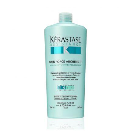 Kerastase Resistance Bain Force Architecte 1&2 Shampoo 1000ml [KE1033]