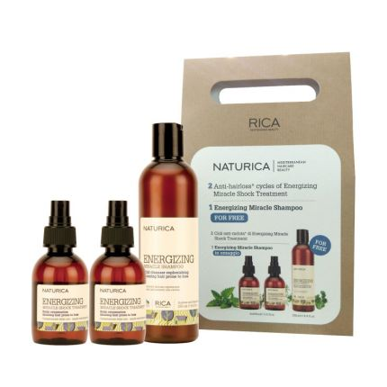 RICA Naturica Energizing Treatment Kit (Shampoo + 2 Treatment) [RCA163]