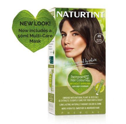 Naturtint Multicare 4N Natural Chestnut 165ml [NTN4N]