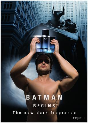 BATMAN BEGINS EDT 50ML