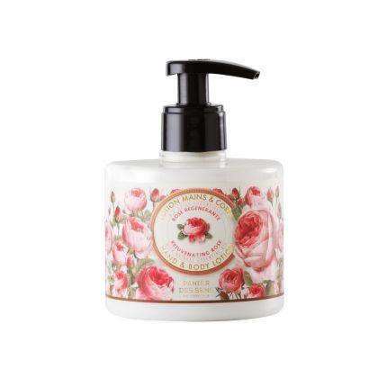 Panier Des Sens Hand & Body Lotion Rejuvenating Rose 300ml [PDS207]