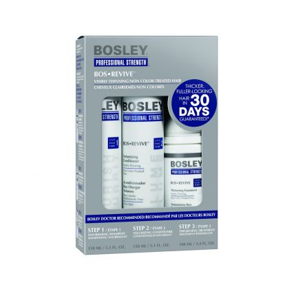 Bosley BOS REVIVE Starter Kit for Non Color-Treated Hair 200ml [BOS126]