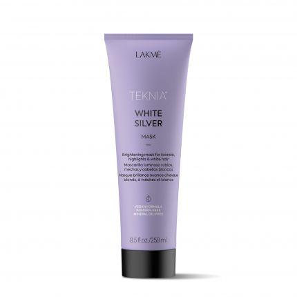 Lakme Teknia White Silver Mask 250ml [LMT204]