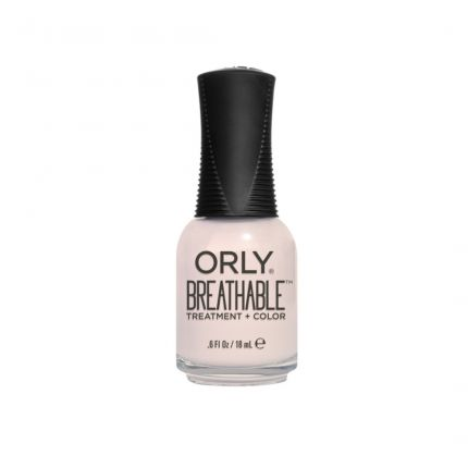 Orly Breathable Treatment + Color Barely There 18ml (Nude Color) (HALAL) [OLB20908]