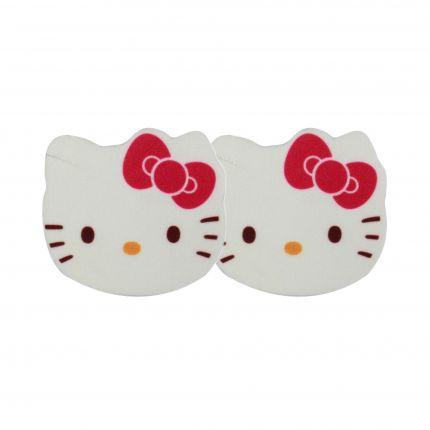 Hello Kitty Bath Time Mini Facial Cleansing Sponges 2pcs [HK106]