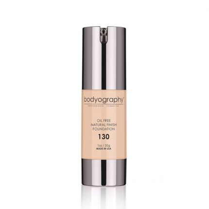 Bodyography Oil-Free Natural Finish Foundation - 130 Light [BDY310]