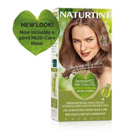Naturtint Multicare 6G Dk Gldn Blonde 165ml [NTN6G]
