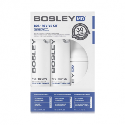 BOSLEY BosRevive Starter Pack For Non Color-Treated Hair Int'l [BOS326]