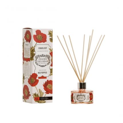 Panier Des Sens Reed Diffuser Red Poppies 100ml [PDS914]