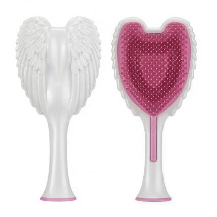 Tangle Angel 2.0 Detangling Hair Brush - Gloss White Pink [TGA221]