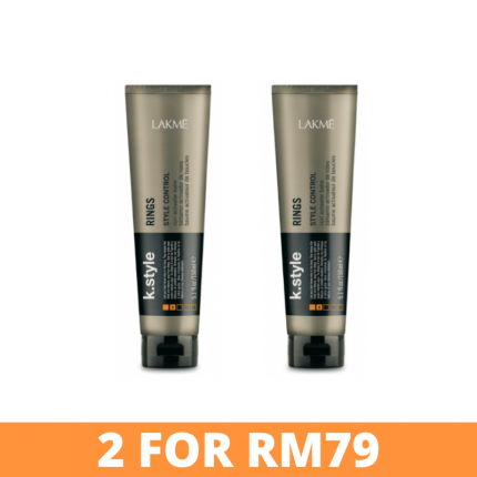 Lakme K.Style Rings Curl Activator Balm 150ml [LM743x2]