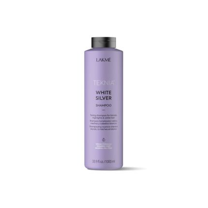 Lakme Teknia White Silver Shampoo 1000ml [LMT201]