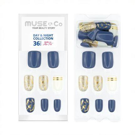 MUSE&Co Stick-On Gel 36 Nails - Hey Gorgeous! [MSCNG0013AF]