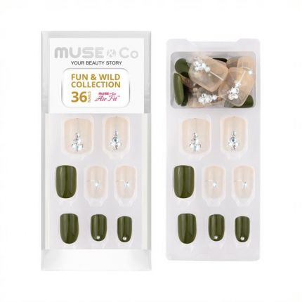 MUSE&Co Fun&Wild Collection 36 Nails -Tranquil Beauty [MSCNL0016]