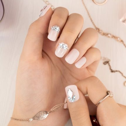MUSE&Co Dazzling Collection 36 Nails - Pink Brilliance [MSCNP0002]