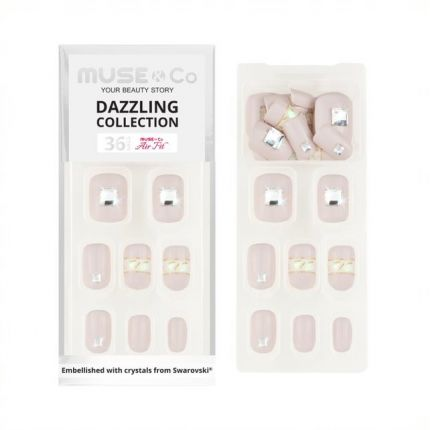 MUSE&Co Dazzling Collection 36 Nails - Elegant Princess [MSCNP0011]