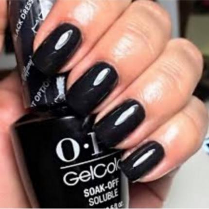 OPI Gel Colour - Black Dress Not Optional 15ml [OPHPH03]