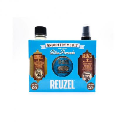 REUZEL Blue Groom Try Me Kit [RZ2111]