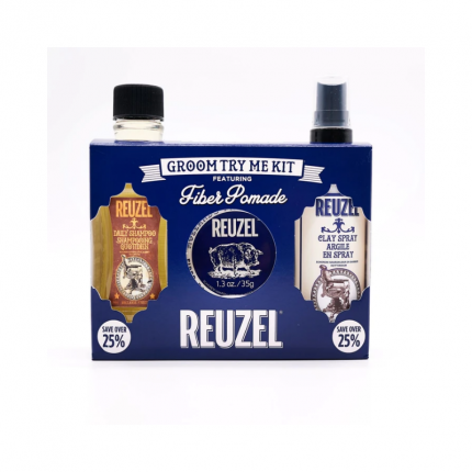 REUZEL Fiber Groom Try Me Kit [RZ2131]