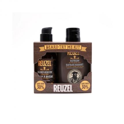 REUZEL Clean & Fresh Beard Try Me Kit  [RZ6121]