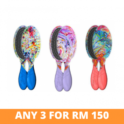 [Any 3 at RM150] Wet Brush Vivid Dreams Detangler [WBVDx3]