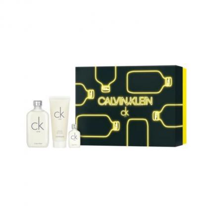 CK ONE EDT 100ml+ Mini 50ml + Body Wash Set [YC0206]