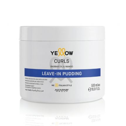 Yellow Curls Leave-In Pudding 500ml [YEW5943]