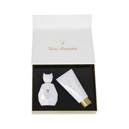 Ginevra Lamborghini White (Angel) Gift Set EDP 50ml + B.Lotion [YL833]