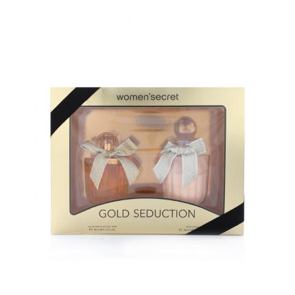 Women Secret Gold Seduction Gift Set EDP 100ml + Shower Gel [YW1223]