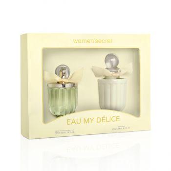 Women Secret EAU MY DELICE Gift Set EDT 100 ml + Body Lotion 200ml [YW1051]