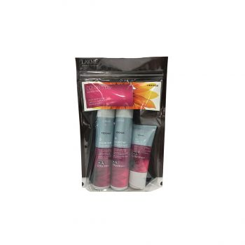 [Travel Pack] Lakme Teknia Color Stay Sulfate Free 100ml Shampoo + 100ml Conditioner + 50ml Treatment [!LM3071]