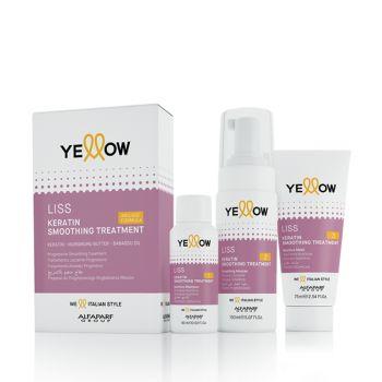 Yellow Liss Keratin Smoothing Treatment Kit [YEW585]