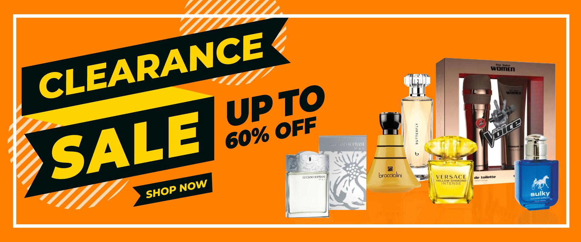 Clearance Perfume
